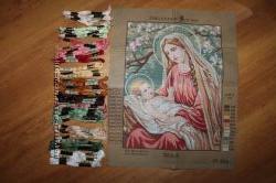 Набор для вышивки крестом Collection D&acuteArt канва мулине