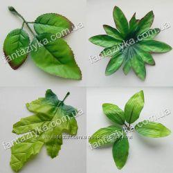 Искусственные листья, ветки, зелень