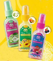 Детский спрей для тела с натуральным ароматом  и блёстками