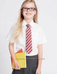 Рубашка блузка школьная MARKS&SPENCER 14 -15 лет  164 см