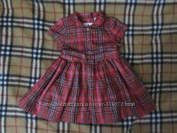 платье-рубашка baby GAP 3-6 мес пышное нарядное