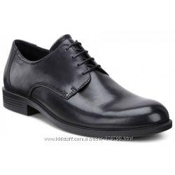 Кожаные черные туфли Ecco Harold 634504-01001