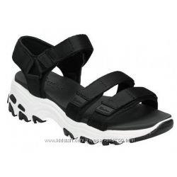 Женские сандалии на высокой подошве Skechers 31514-BLK Скейчарс 31513-БЛК