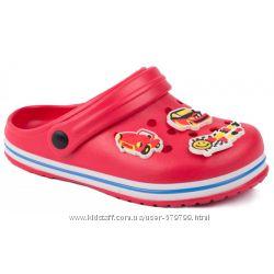 Оригинальные сабо, кроксы, crocs, сабо Calypso Pink Red