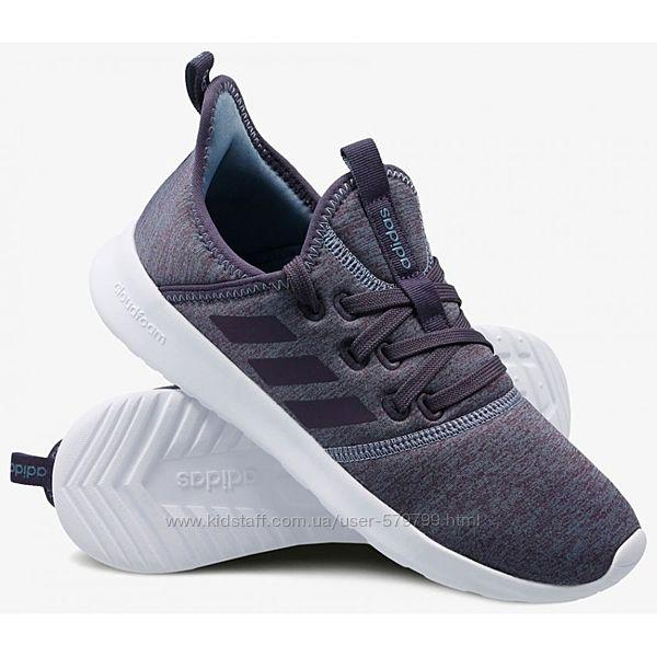 Женские невесомые кроссовки на гелиевой стельке Adidas Cloudfoam Pure