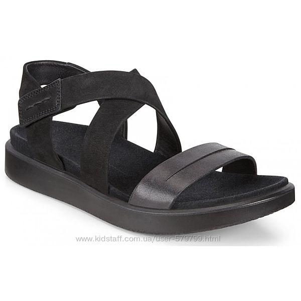 Легкие сандалии на липучке Ecco Flowt 273613-51052