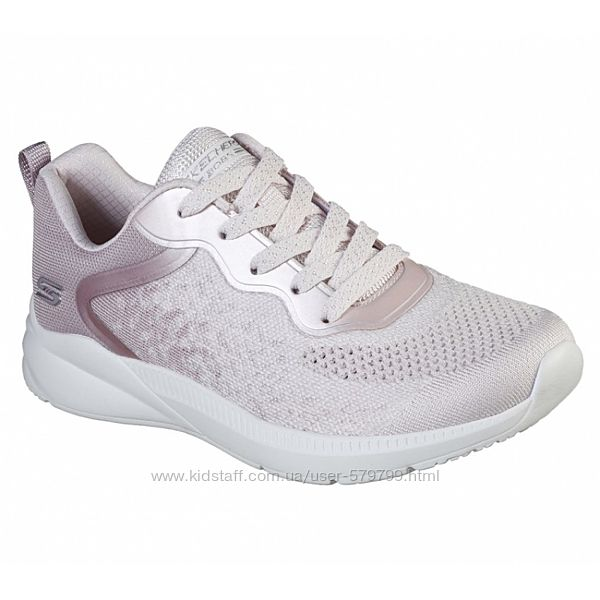 Светлые кроссовки на гелиевой стельке Skechers 117010 BLSH