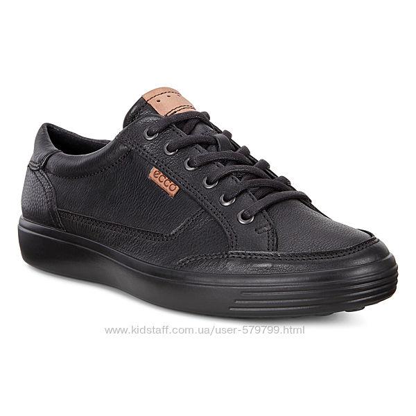 Кожаные демисезонные кроссовки Ecco Soft 7 430304-0100