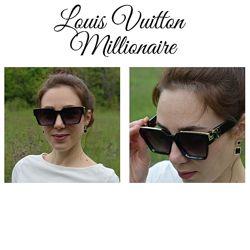 Очки Louis Vuitton Millionaire, как у Лободы женские, цвета разные