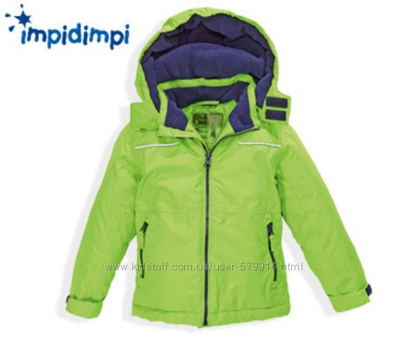 Термо- курточки от немецкого бренда Impidimpi на мальчика и девочку