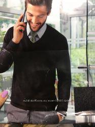 Классический тонкий вязаный свитер от немецкого бренда Royal Class