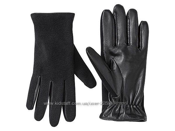Кожаные перчатки от немецкого бренда Esmara