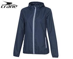 Легкая ветровка- дождевик от  немецкого бренда Crane