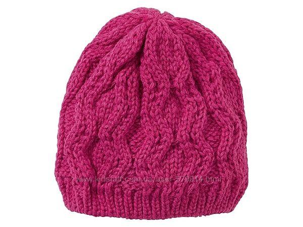 Вязаная шапочка на флисе от немецкого бренда lupilu