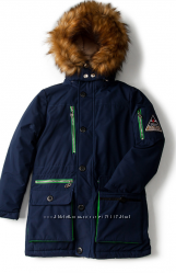Зимняя куртка -парка для мальчика Anernuo р. 150