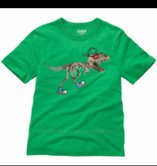 Фирменные футболки oshkosh  для мальчика на р. 122-134