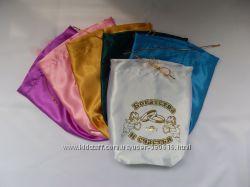Новые атласные мешочки универсальные