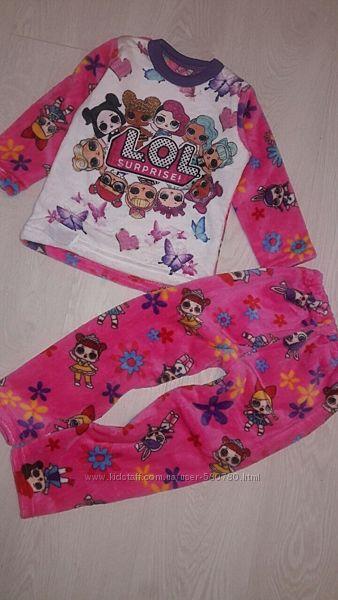 махровые пижамки для девочек, пижама лол
