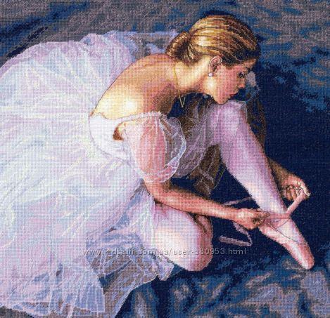 Набор для вышивки Dimensions Ballerina Beauty