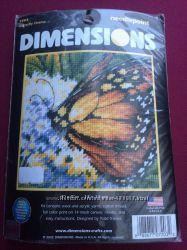 Наборы для вышивки Dimensions Butterfly Drama и Daisy Fun гобелены