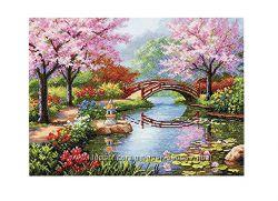 Набор для вышивки Dimensions Japanese Garden