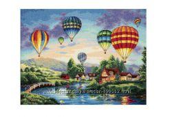 Набор для вышивки Dimensions Balloon Glow
