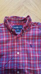 фирменная рубашка  RALPH LAUREN , отличнле состояние