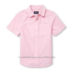 стильные рубашки Childrens place на 5-6лет, две расцветки