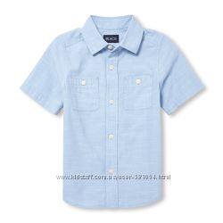 стильные рубашки на лето, 5-6лет, две расцветки