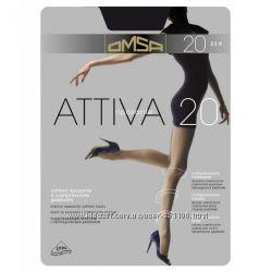 Колготки OMSA Attiva 20 DEN. Размер 2-5.