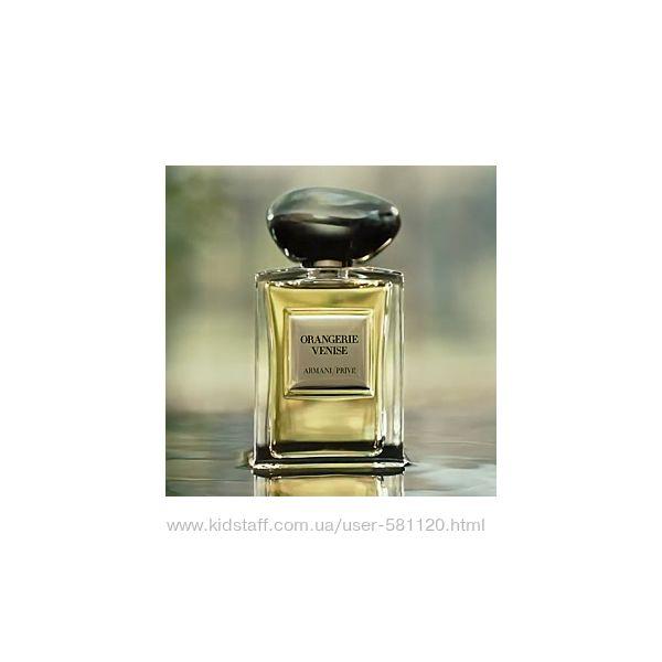 Les Eaux Armani/Prive  Orangerie Venice- райский цитрусовый сад, распив