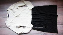 теплое платье С. фирма Mango. состояние нового