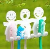 Полочка держатель для зубных щеток
