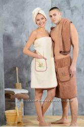 Набор полотенец для сауны, женский или мужской
