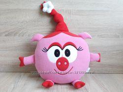 Мягкая игрушка - подушка Смешарики Нюша ручная работа