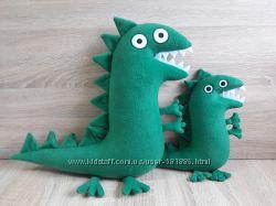 Мягкая игрушка Динозавр поросенка Джорджа ручная работа