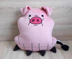 Мягкая игрушка - подушка свинка Пухля из Гравити Фолз, ручная работа