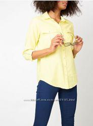 Льняная рубашка новая с тремпелем
