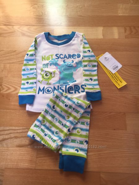Пижама Disney корпорация монстров 18-24  мес