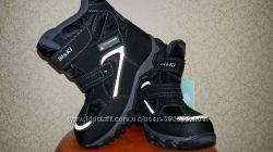 Зимние термо ботинки на мальчика Bi&Ki 33-38р.