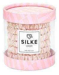 Резинки из натурального шелка Silke London. Разные цвета
