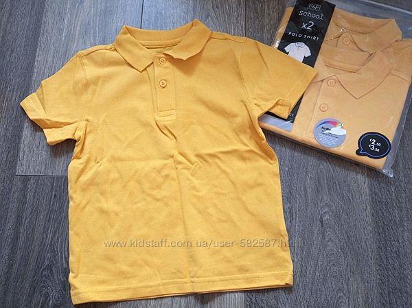 Фирменные футболки поло F&F