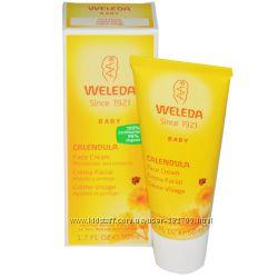 Weleda, Детский крем для лица с календулой 50 мл