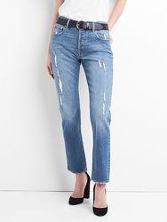 Джинсы gap  Super High Rise Straight Jeans