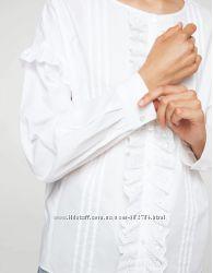 Ажурная блуза Рубашка женская Mango S Испания
