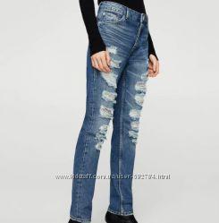 Трендовые джинсы girlfriend от Mango 36p S
