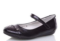 Нарядные школьные туфли 32-36р