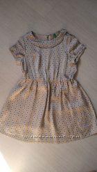 Платье Benetton на 5-6лет