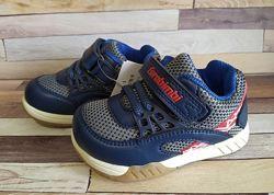 Кроссовки для мальчика, синие, 14см и 19см