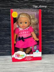 Fisher-Price мягкий пупс кукла мишка Little mommy из США